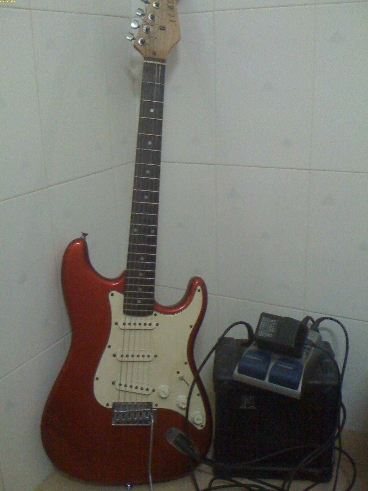 急转电吉他,效果器,塔斯瑞m6电吉他音箱完美一套