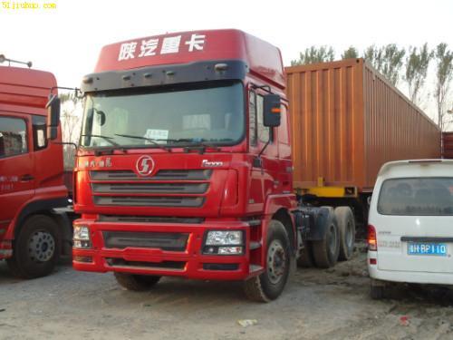 山东 济宁 梁山县陕汽德龙双桥货车 尽在51旧货网 高清图片