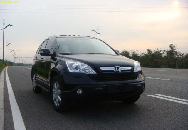 低价转让新款东风本田crv2.4豪华型越野车