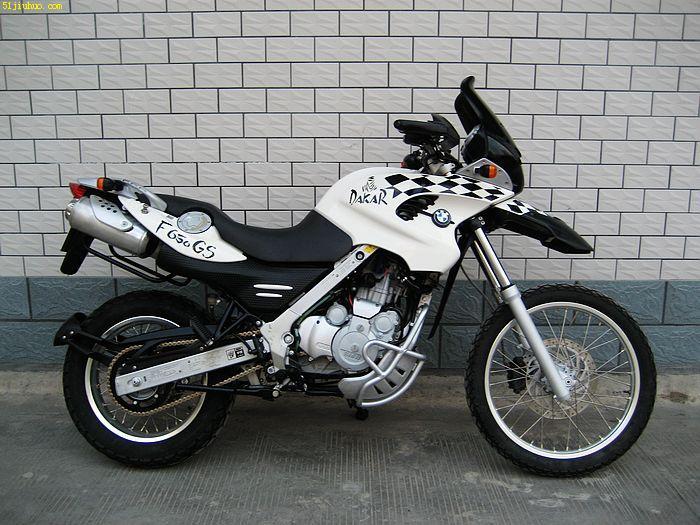 宝马f650gs越野摩托车