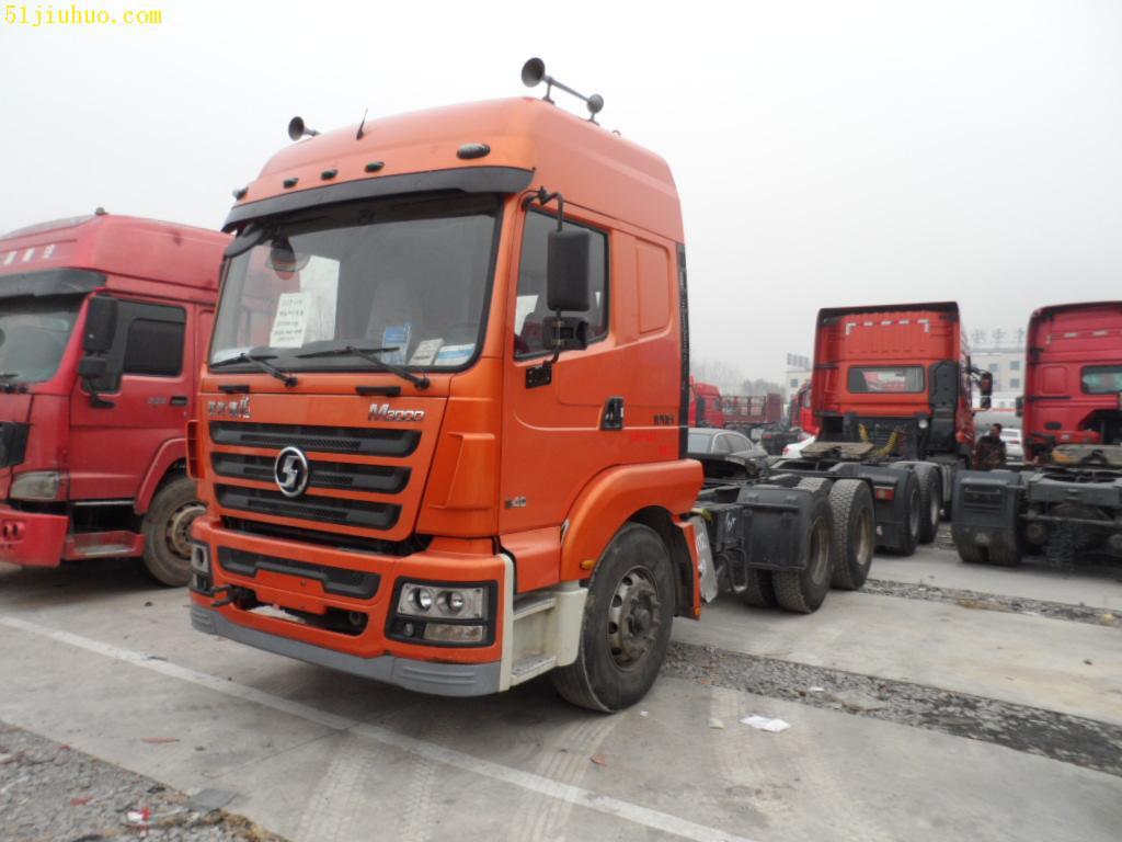 12年陕汽德龙m3000双驱轻型牵引车-尽在51旧货网