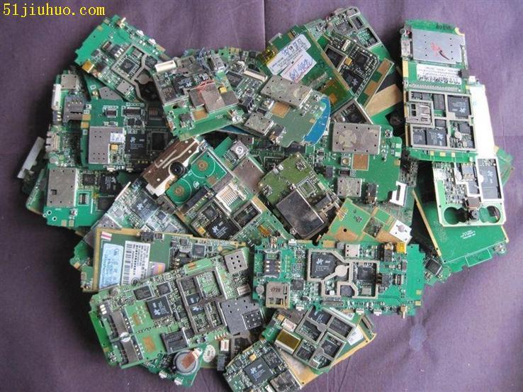 收购印刷手机电路板回收镀金手机光板上海