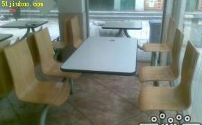 低价转让高档 快餐桌椅 kfc